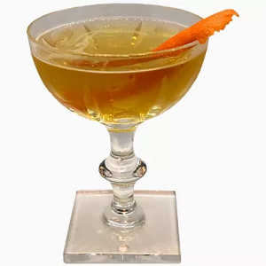 cocktail smoky negroni